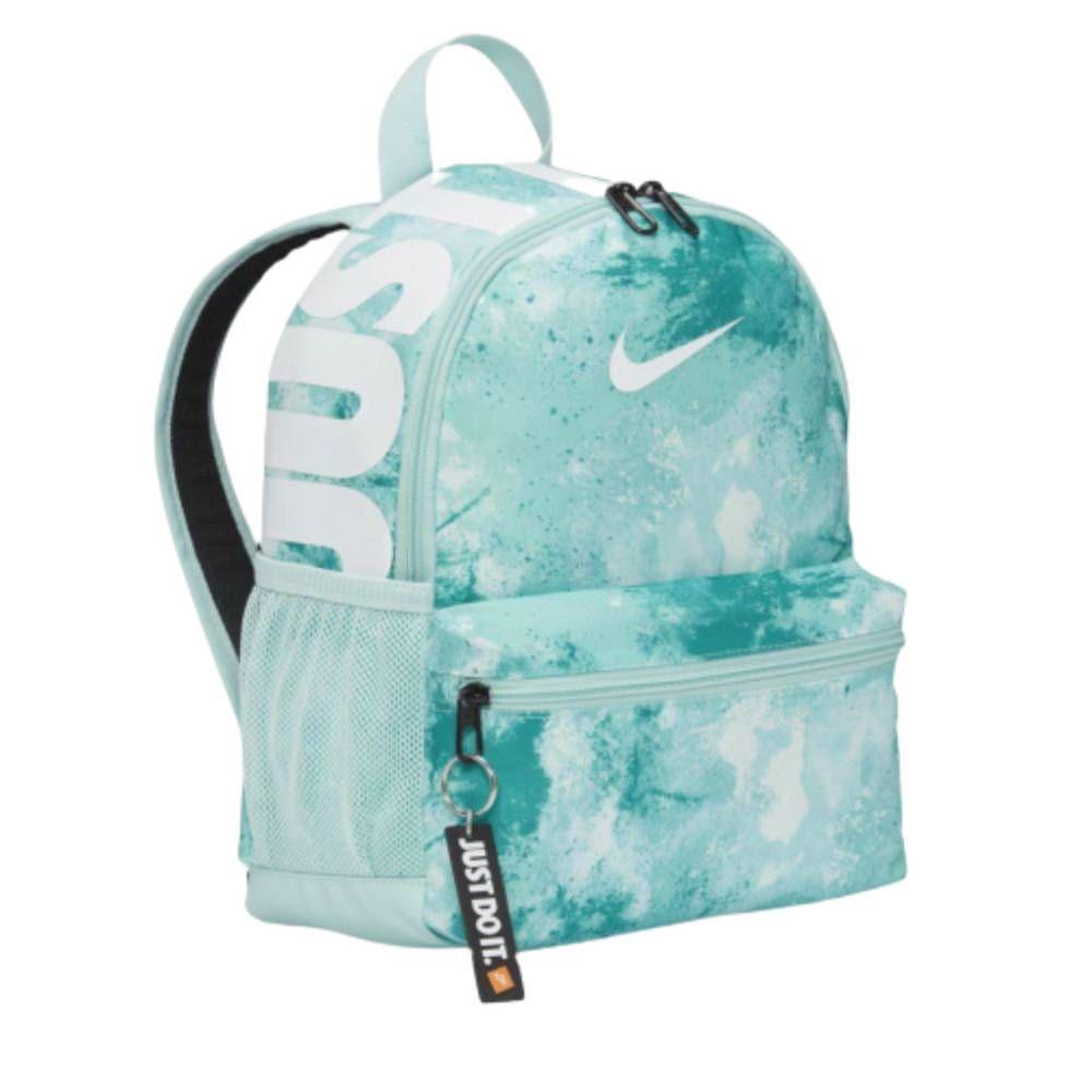 Mochila Nike Brasilia JDI Mini Verde Branco
