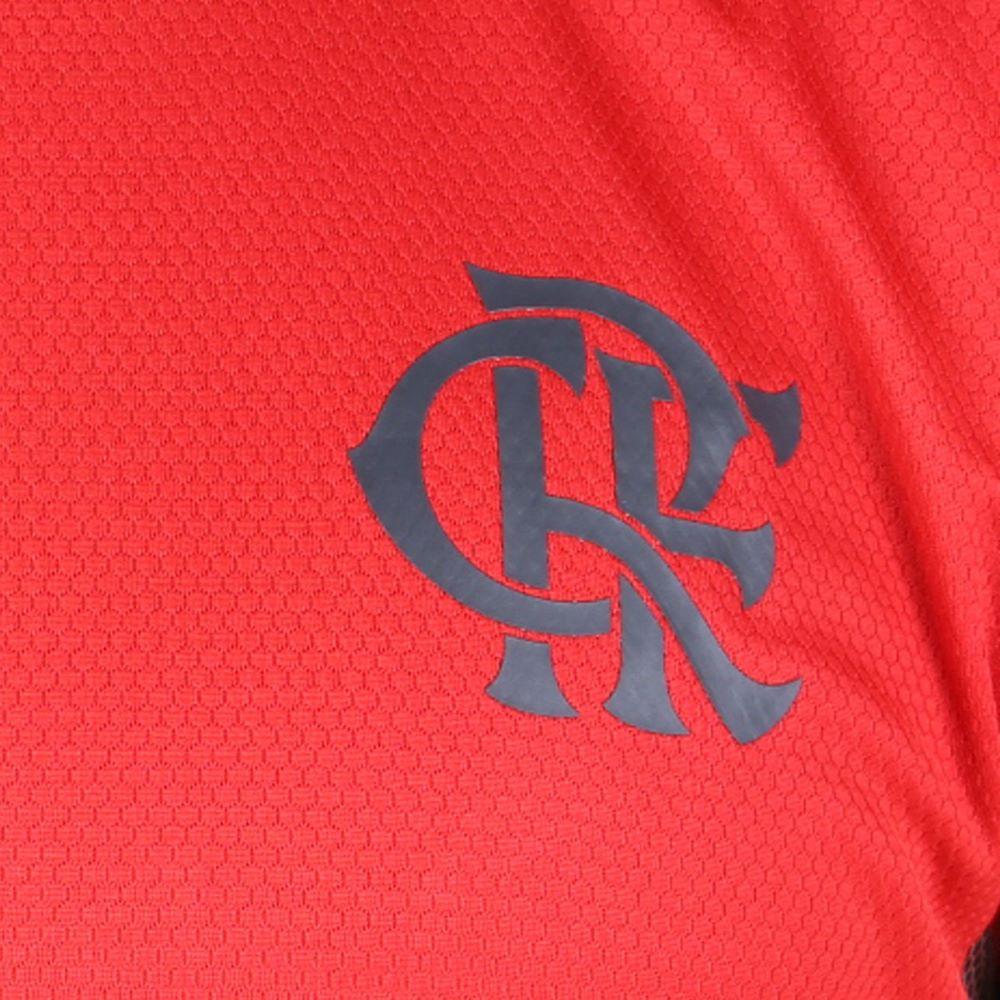 Regata Oficial Flamengo Treino 20/21 Masculino Vermelho Preto