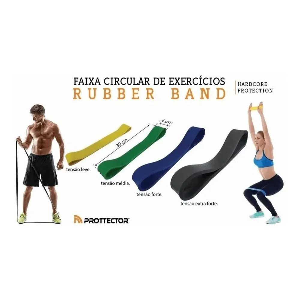 Rubber Band Tensao Leve - Prottector