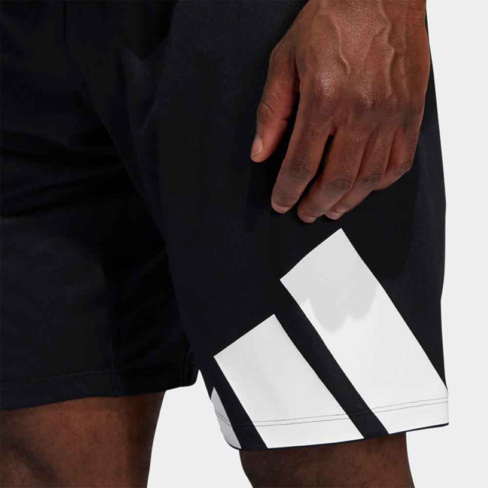 Short Adidas 4KRFT Masculino Preto e Branco