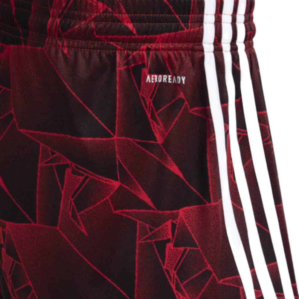 Short Adidas Flamengo II 2021 Vermelho Preto