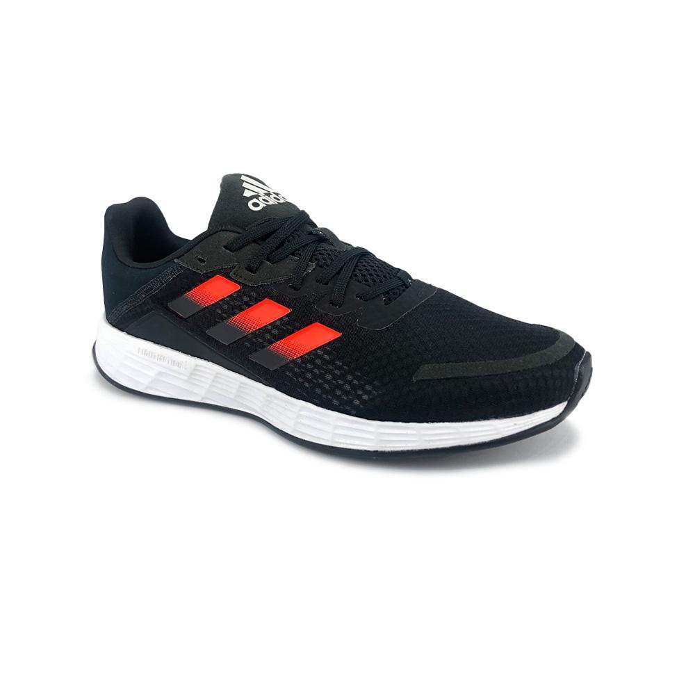 Tênis Adidas Duramo SL Preto Vermelho