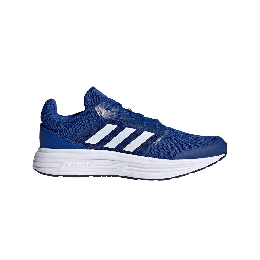 Tênis Adidas Galaxy 5 Azul Branco