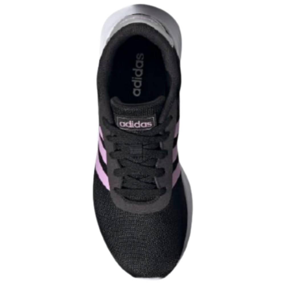 Tênis Adidas Lite Racer 2.0 Preto Rosa
