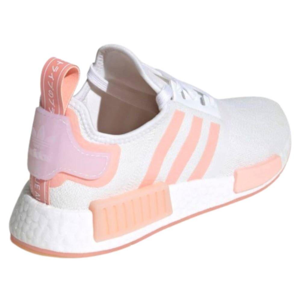 Tênis Adidas NMD-R1 - Branco e Rosa
