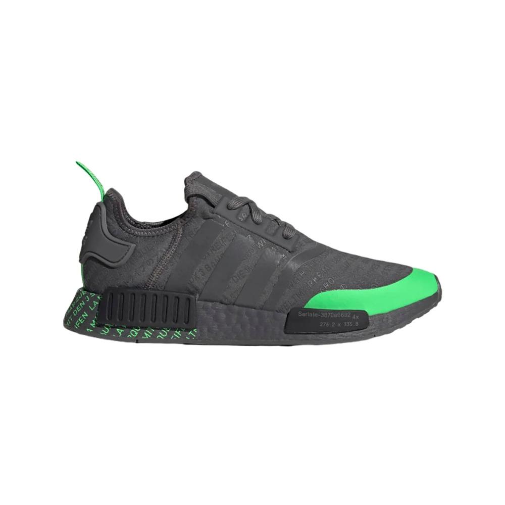 Tênis Adidas Originals NMD-R1 - Grafite/Verde