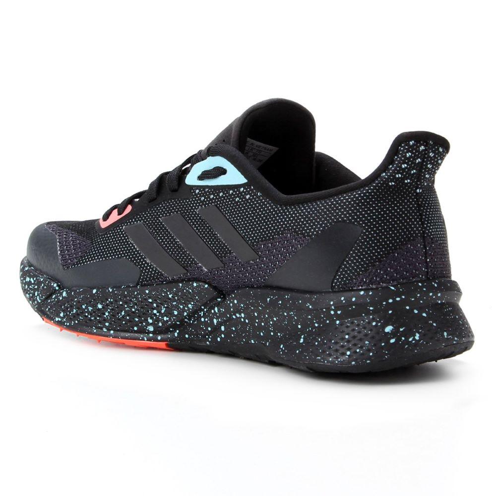 Tênis Adidas X9000 L2 - Preto Rosa Verde