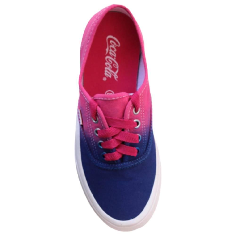 Tênis Coca Cola Kick Ombre Pink
