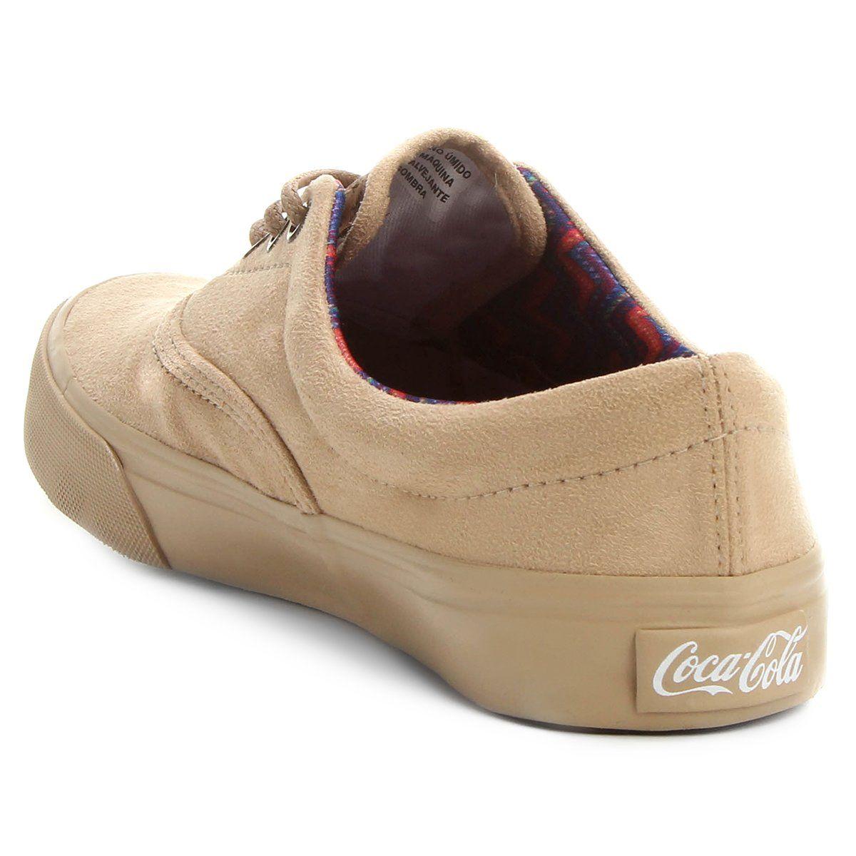 Tênis Coca-Cola Kick Suede Soft