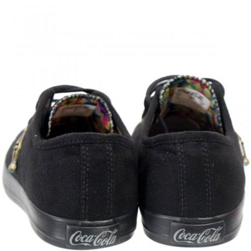 Tênis Coca Cola Miami Suede