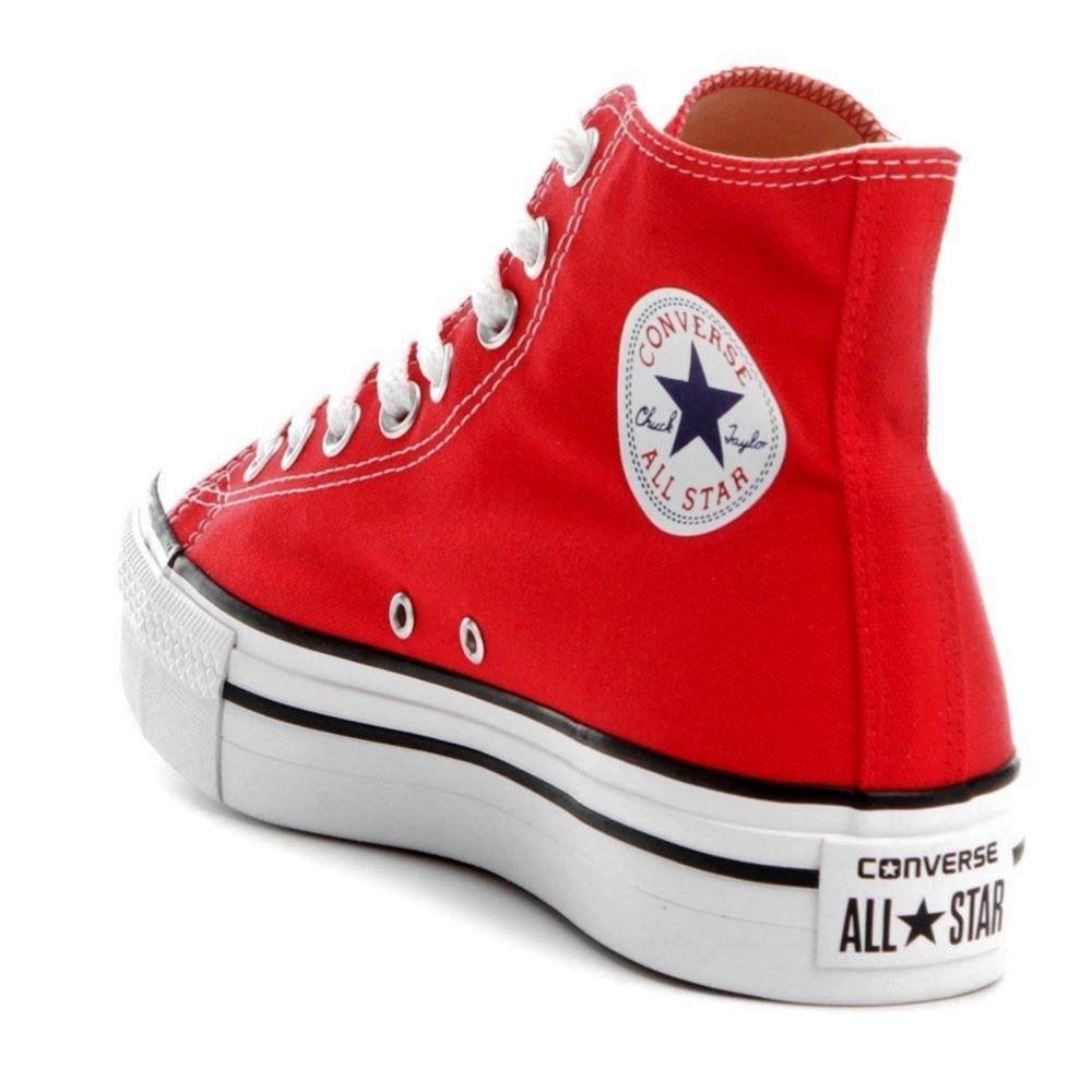 Tênis Converse All Star Chuck Taylor Cano Alto Plataforma