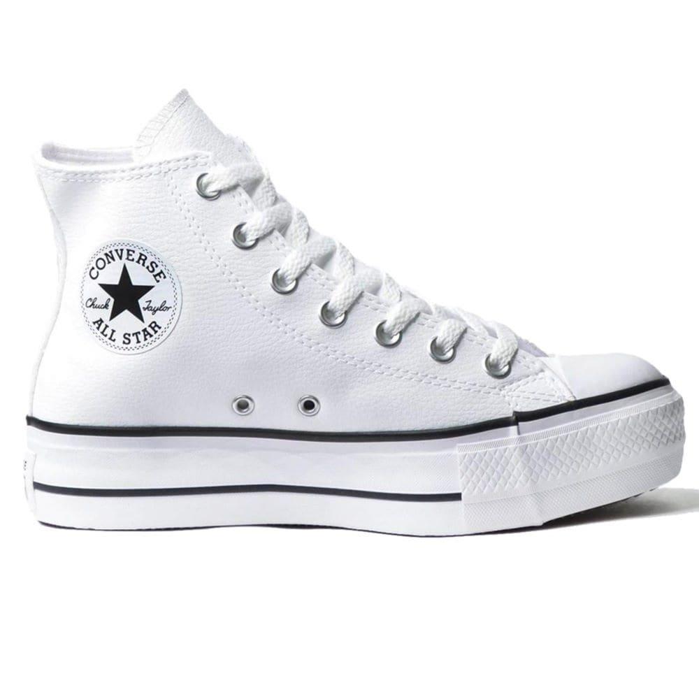 Tênis Converse All Star Chuck Taylor Platform Lift Hi Branco