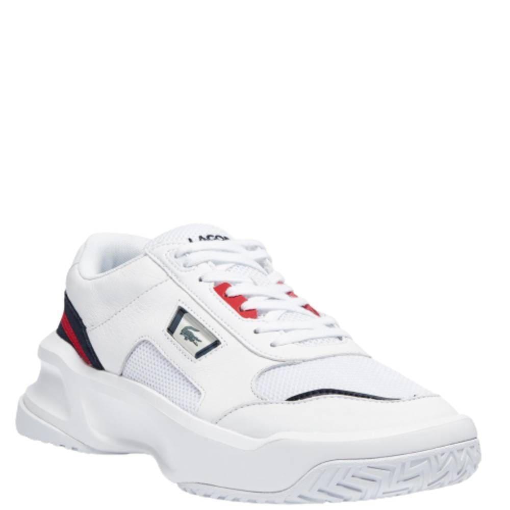 Tênis Lacoste Ace Lift Branco Azul Vermelho