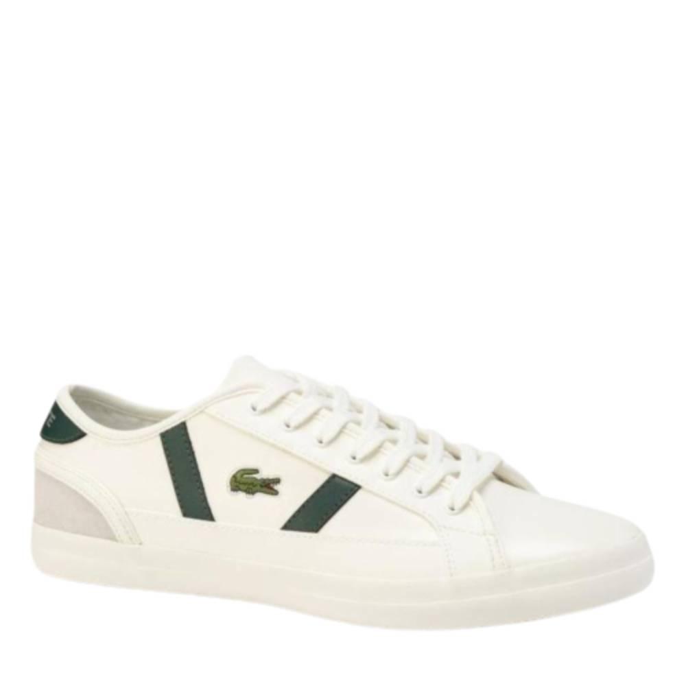 Tênis Lacoste Sideline TH Branco e Verde