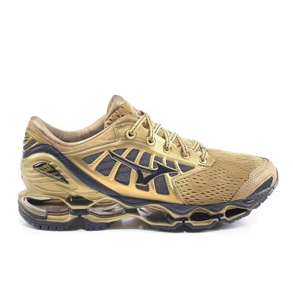 Tênis Mizuno Wave Prophecy 9 Golden Run