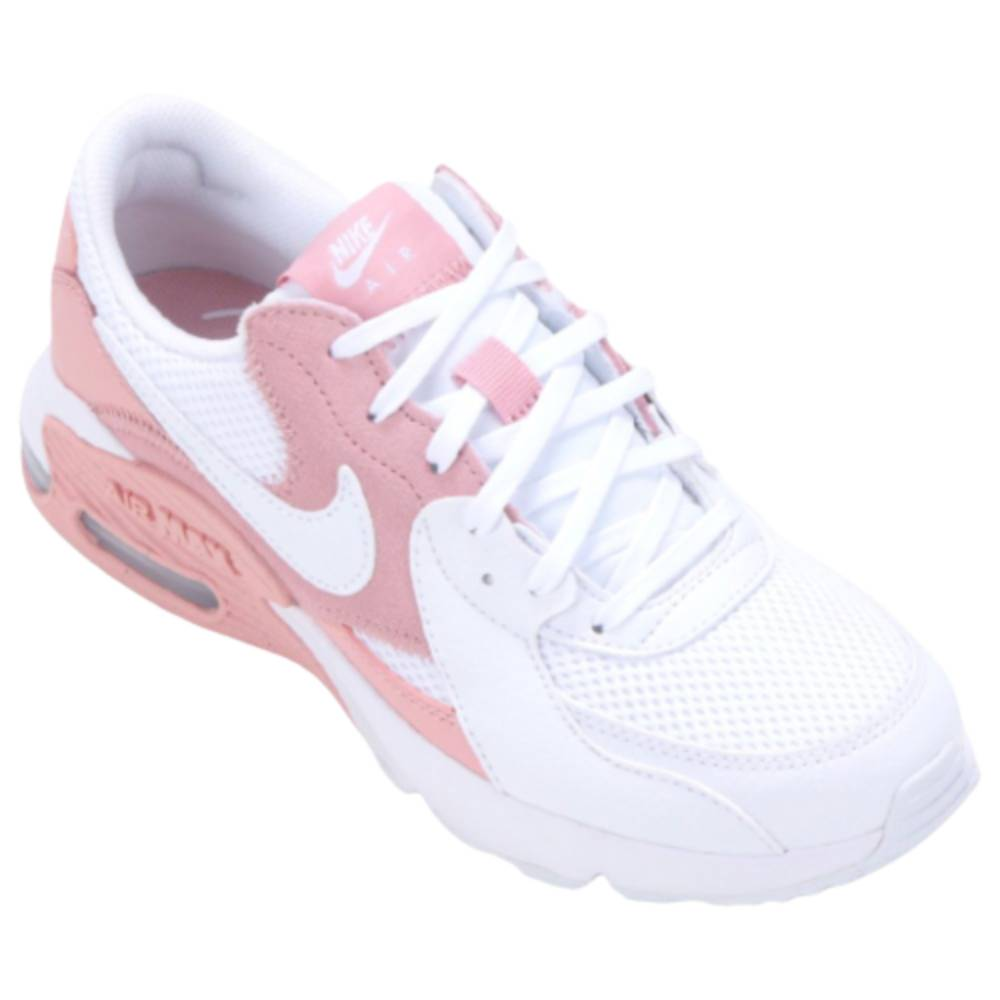 Tênis Nike Air Max Excee Branco Rosa