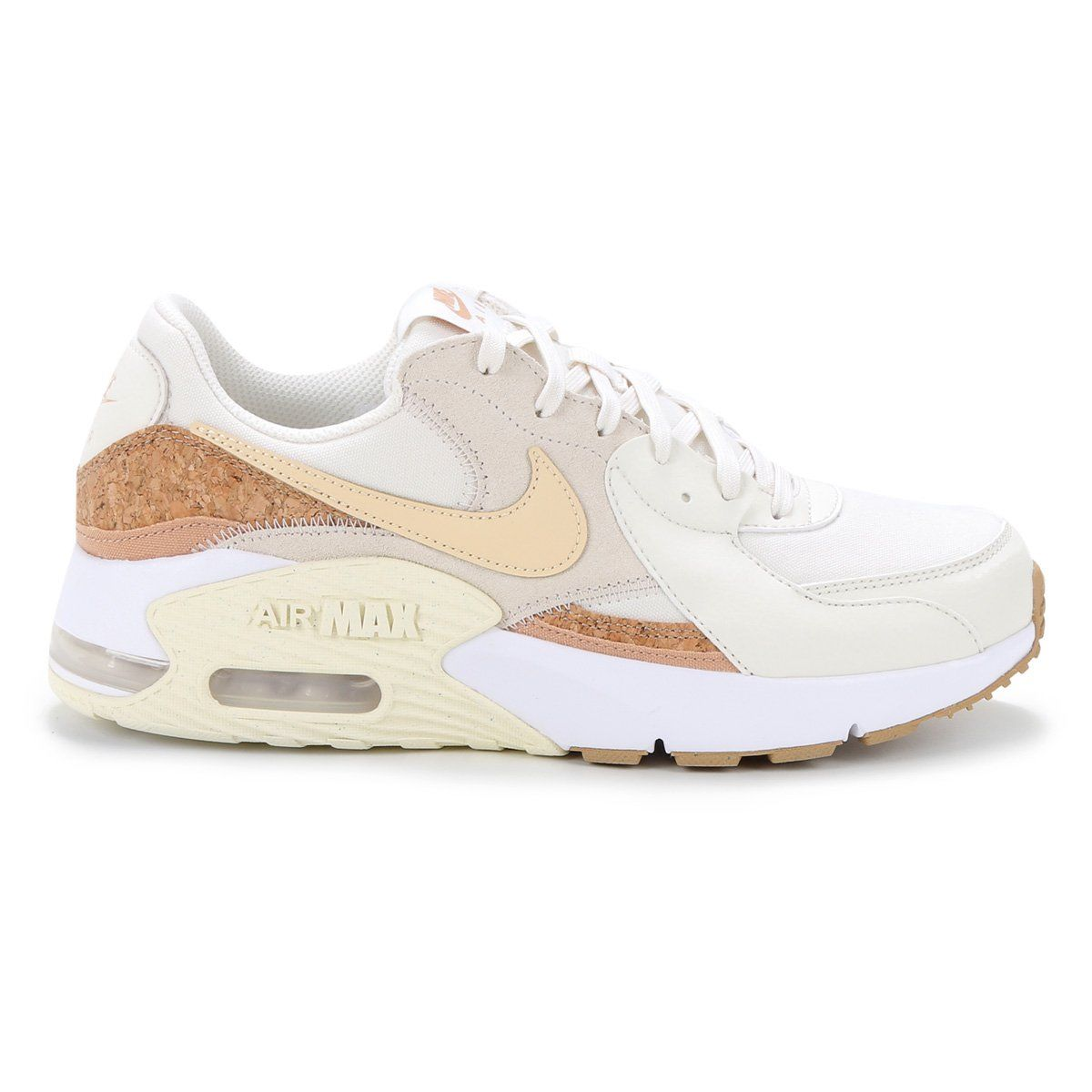Tênis Nike Air Max Excee Off White Caramelo