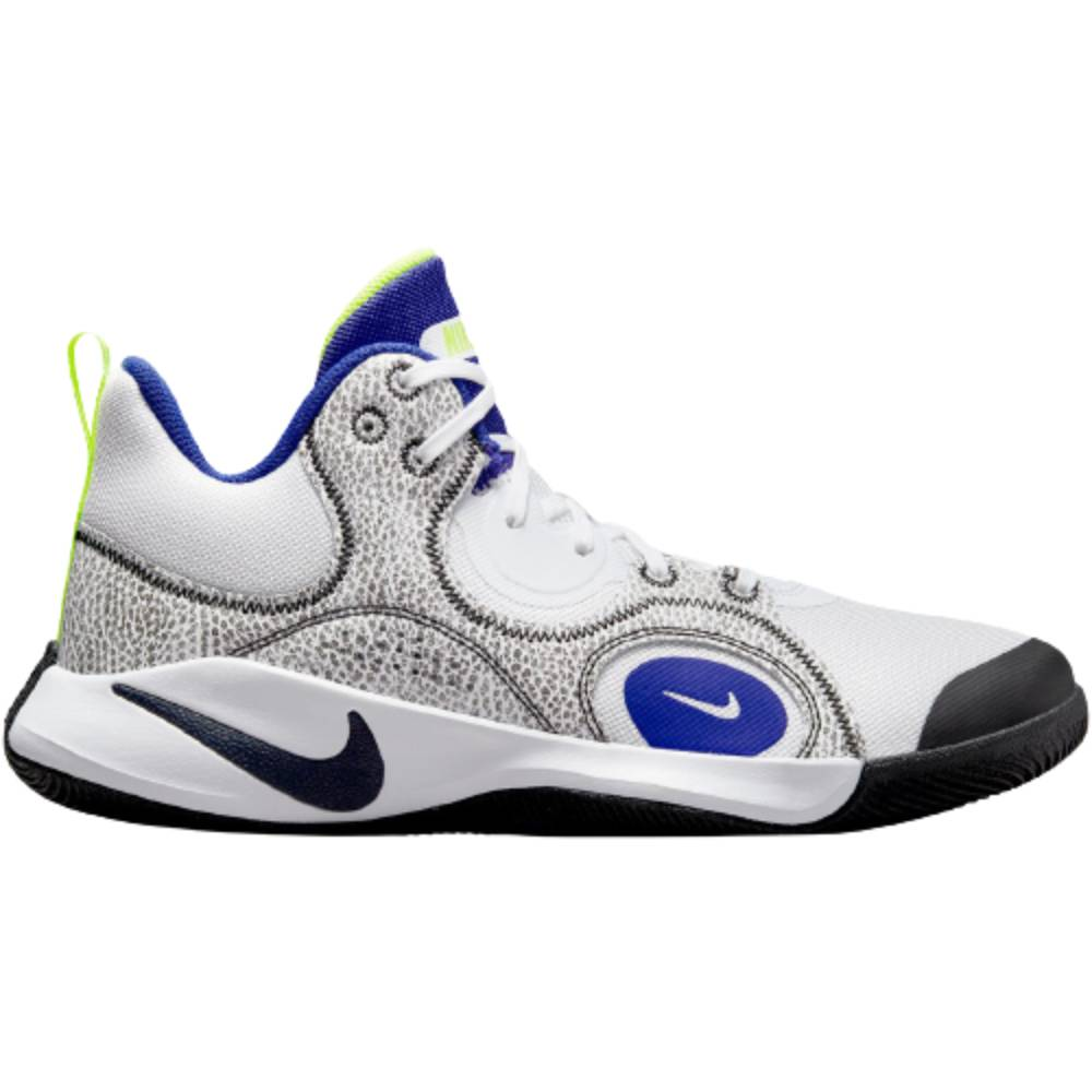 Tênis Nike Fly.By Mid 2 Branco Azul