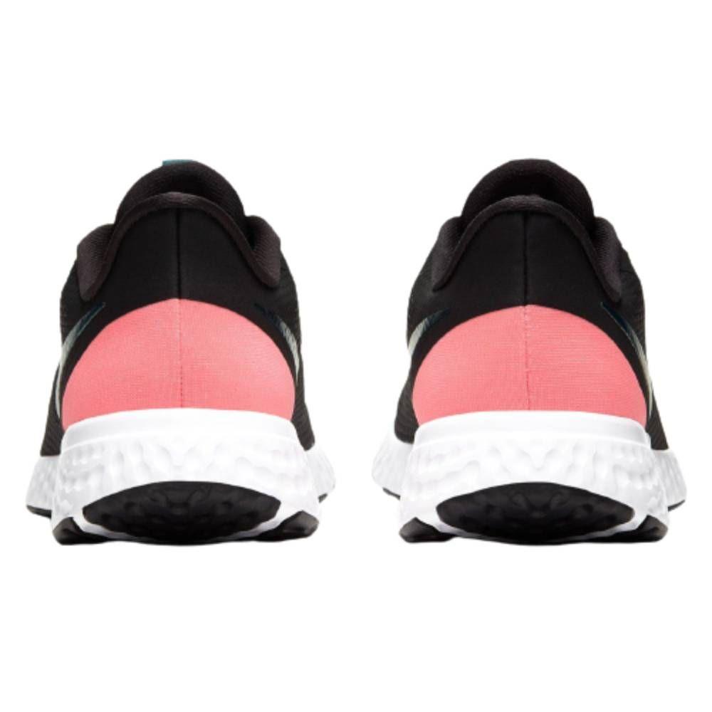 Tênis Nike Revolution 5 - Preto/Verde/Rosa