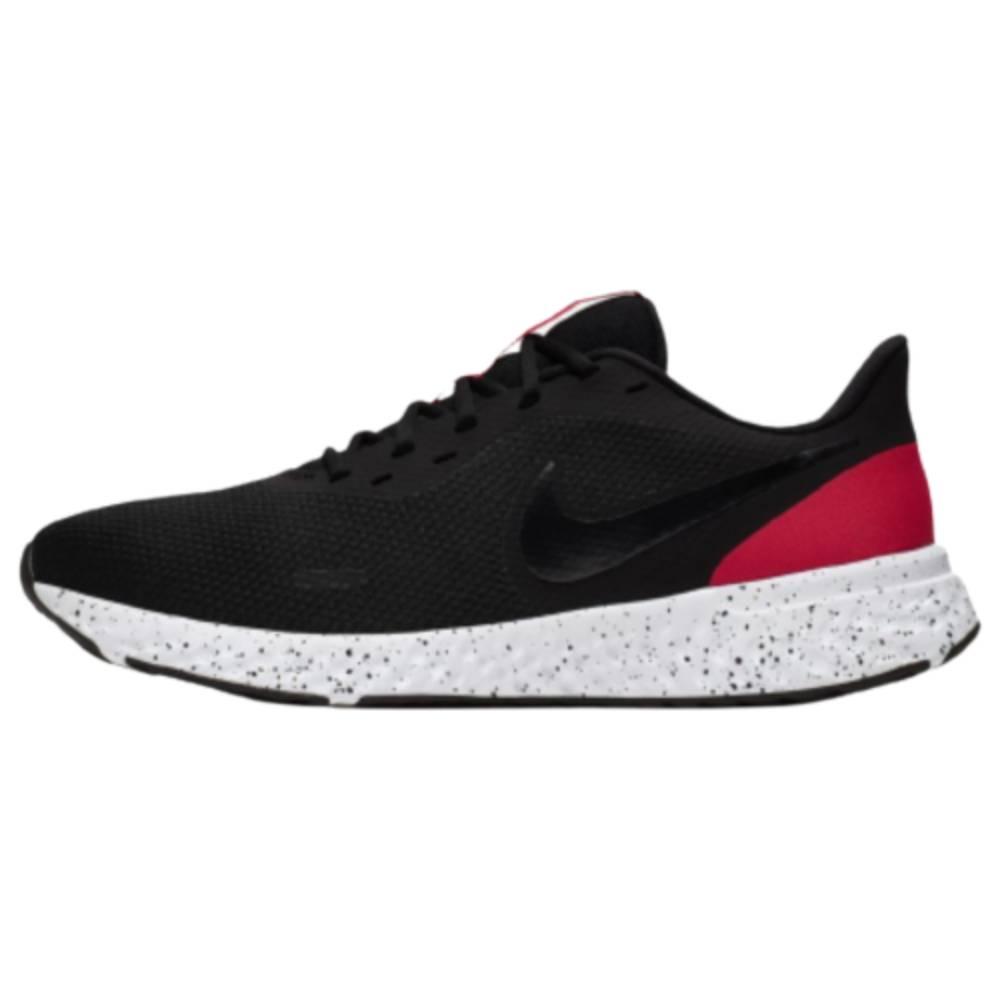 Tênis Nike Revolution Preto Branco Vermelho