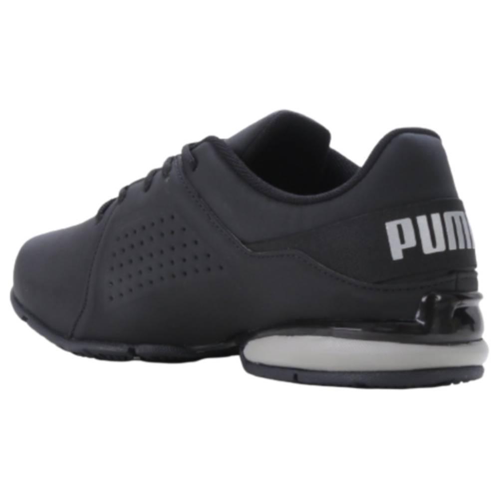 Tênis Puma Viz Runner BDP Preto Cinza