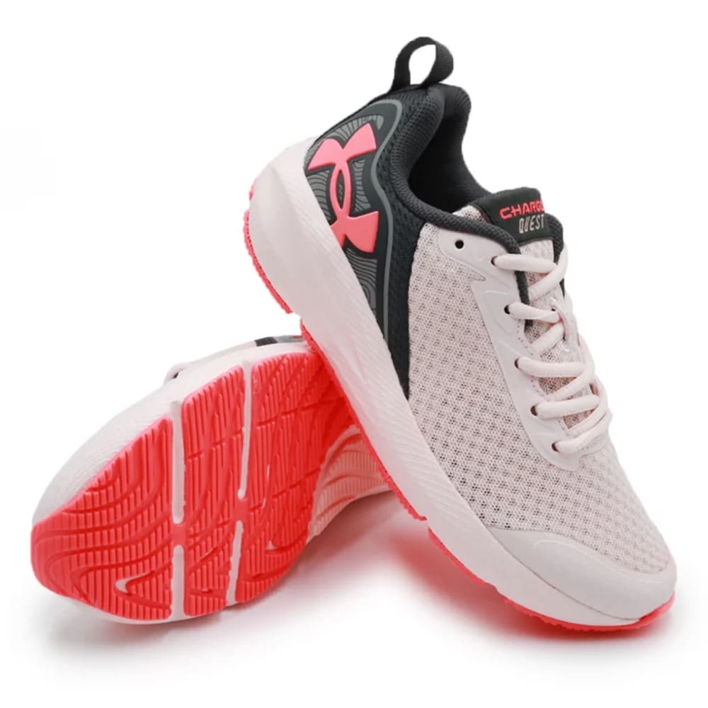 Tênis Under Armour Charged Quest Rosa