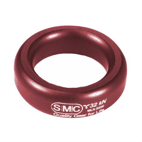 Anel SMC Alumínio Conector Rigging 32KN Vermelho