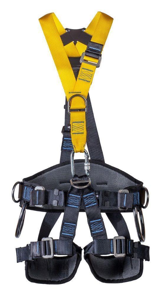 Cinto de Segurança Athenas Paraquedista 5 pontos Cintura e Pernas