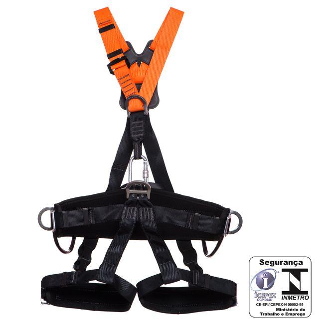 Cinto de Segurança MG Paraquedista 5 pontos Cintura e Pernas