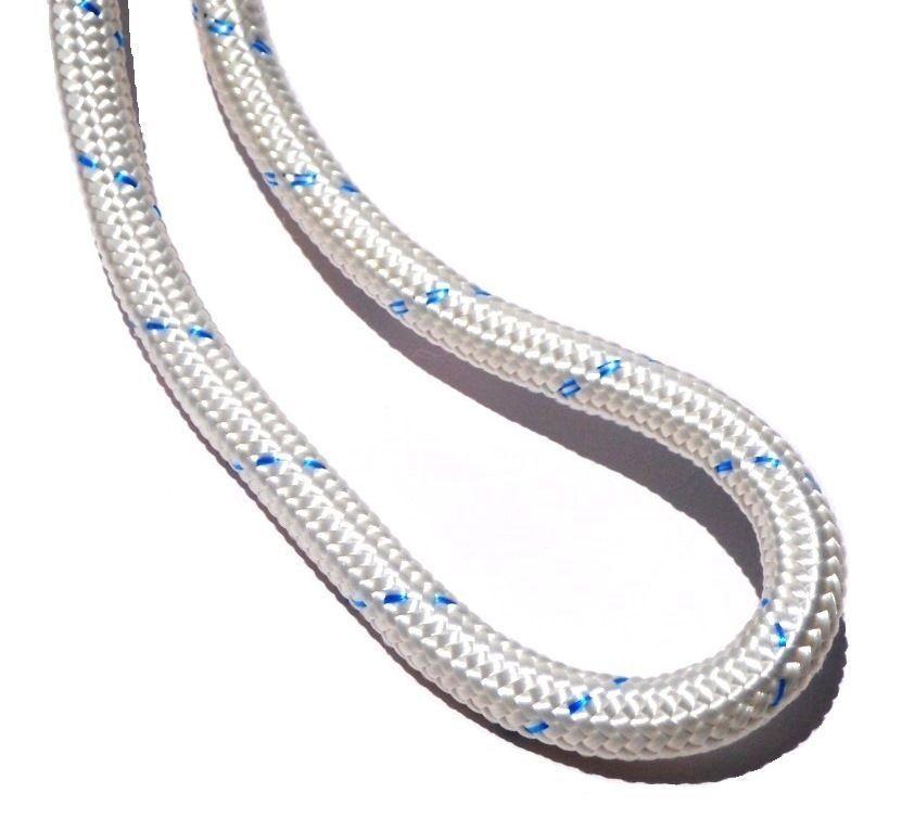 Corda Estática Plasma 12mm 26KN Trava Quedas com Aço