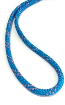 Cordelete de 6mm capa poliéster e alma em poliamida azul ruptura 500Kg K2