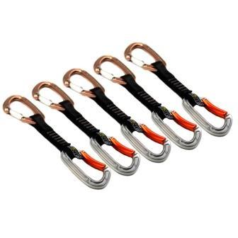 Kit Easylight com 5 costuras em fita poliamida 22KN mosquetão curvo e aramido CE EN SideUp