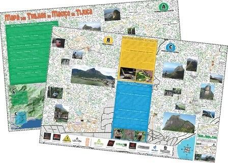 Livro Mapa das Trilhas do Maciço da Tijuca