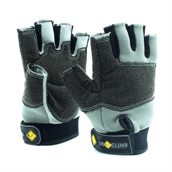 Luva USClimb Free Fingers Proteção especial Sem dedo