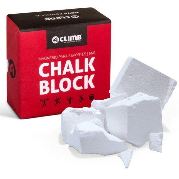 Magnésio 4Climb Chalk Block 56gr bloco