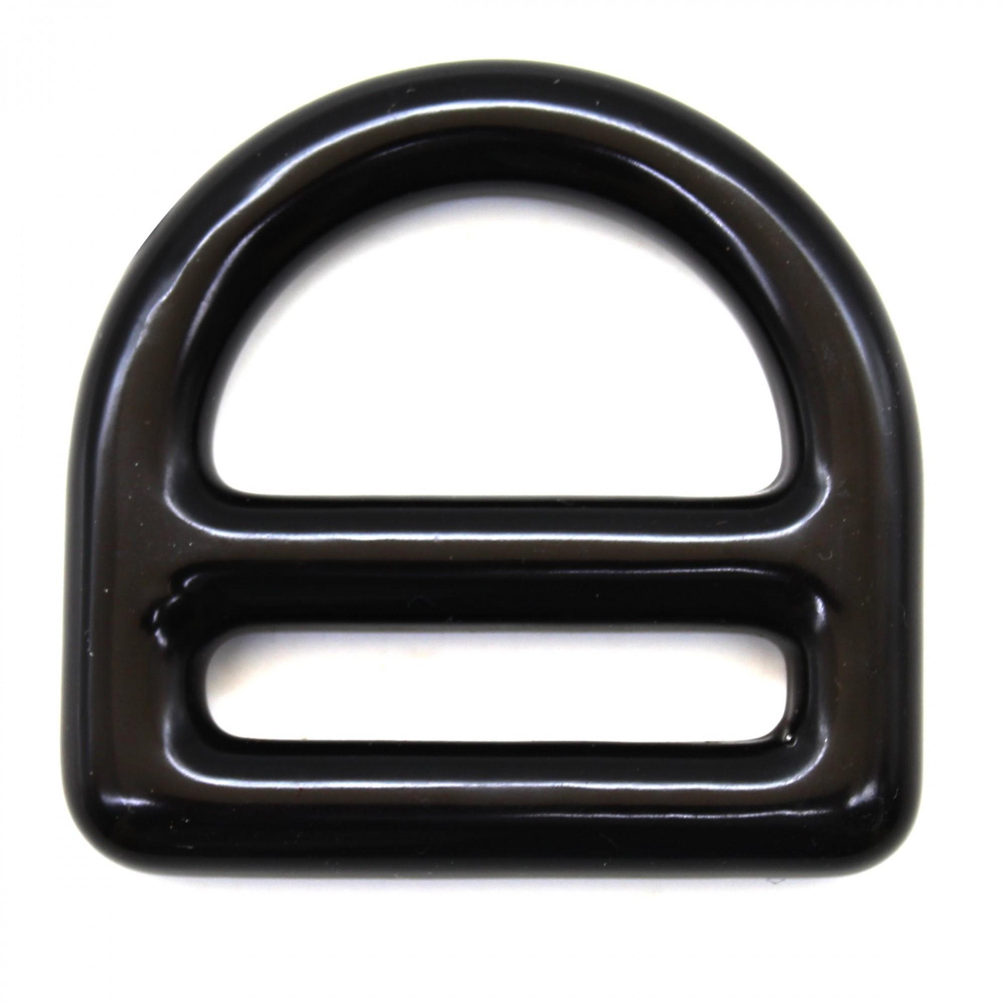Olhal de Aço SideUp D-Ring Proteção em PVC 30KN