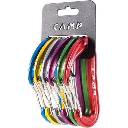 Pack Camp Dyon com 6 Mosquetões Aramidos CE EN