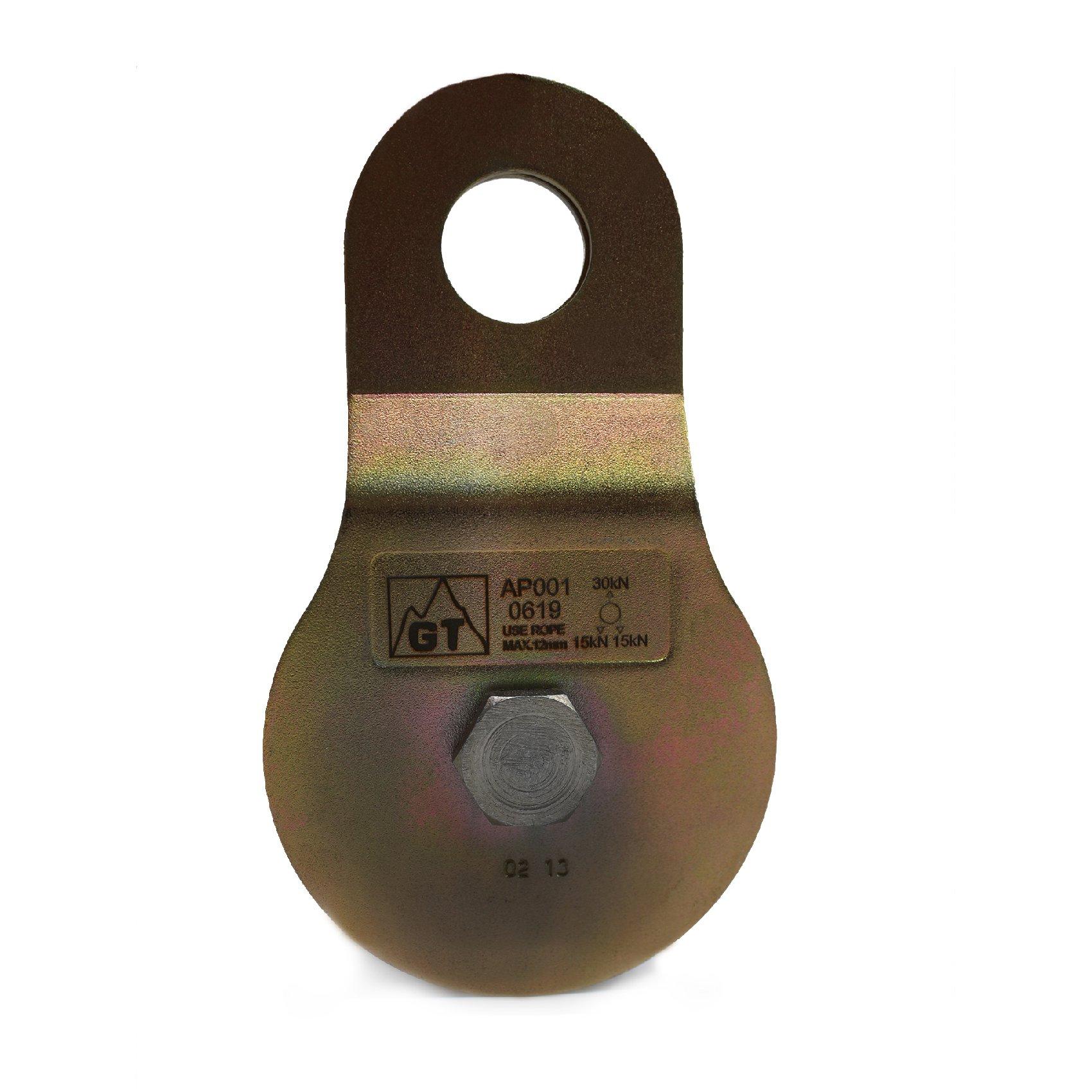 Polia GT Aço Oscilante para içamento de cargas