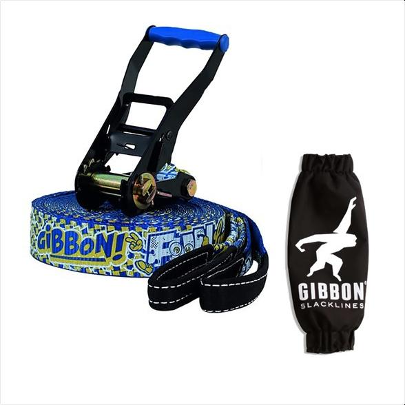 Slack Line Gibbon Kit Fun line 50mm 15m