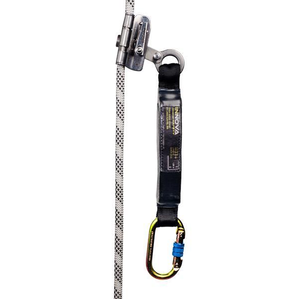 Trava quedas para corda de 11 a 12mm com Absoredor de energia Innova