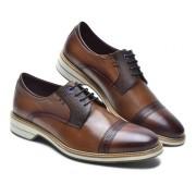 Sapato Estilo Esporte Fino Keep Shoes Cor Tabaco 63502