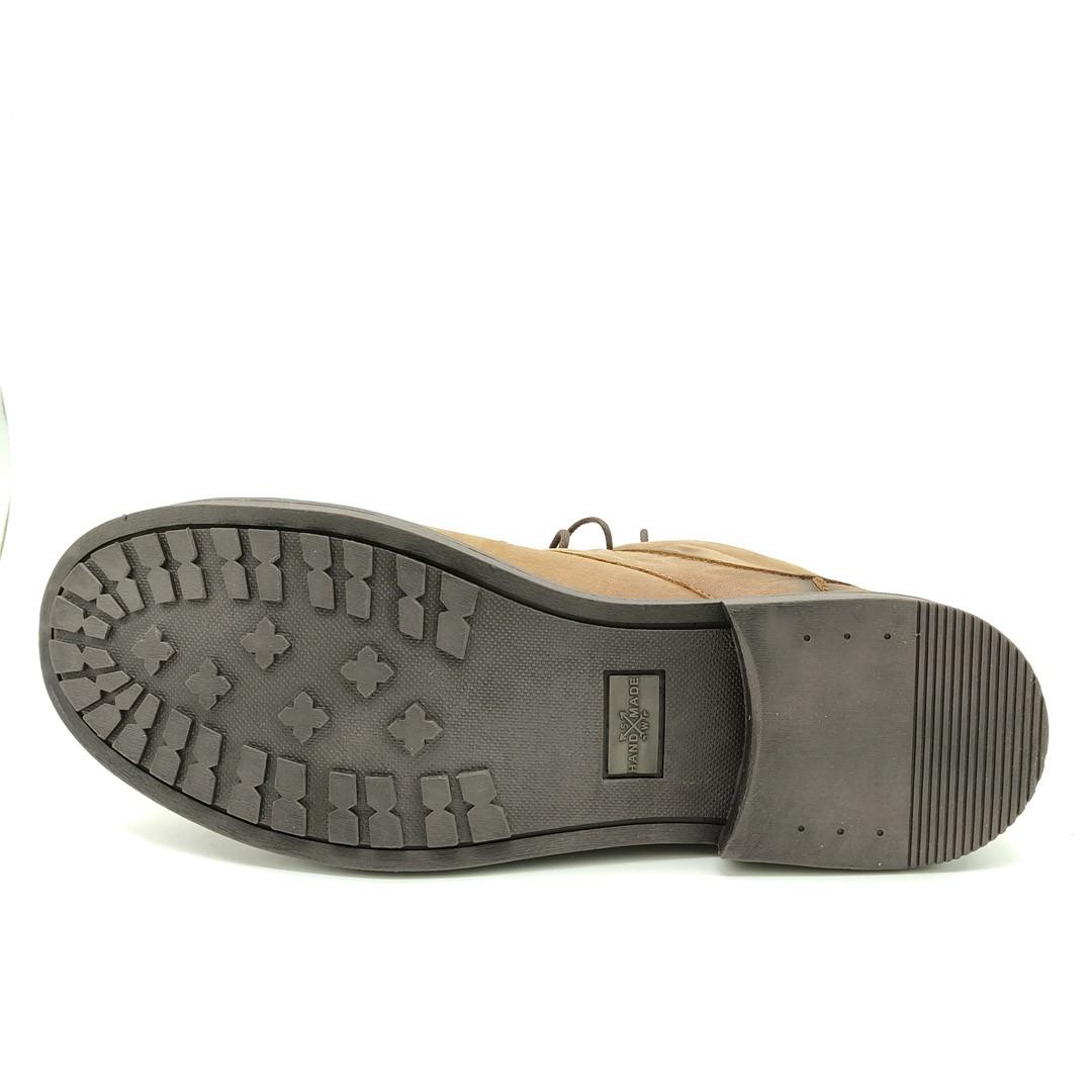 Bota Estilo Rústica Keep Shoes Tangerina ML803