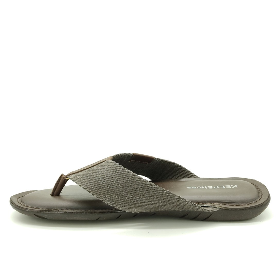 Chinelo Keep Shoes Mouro Café 10107L