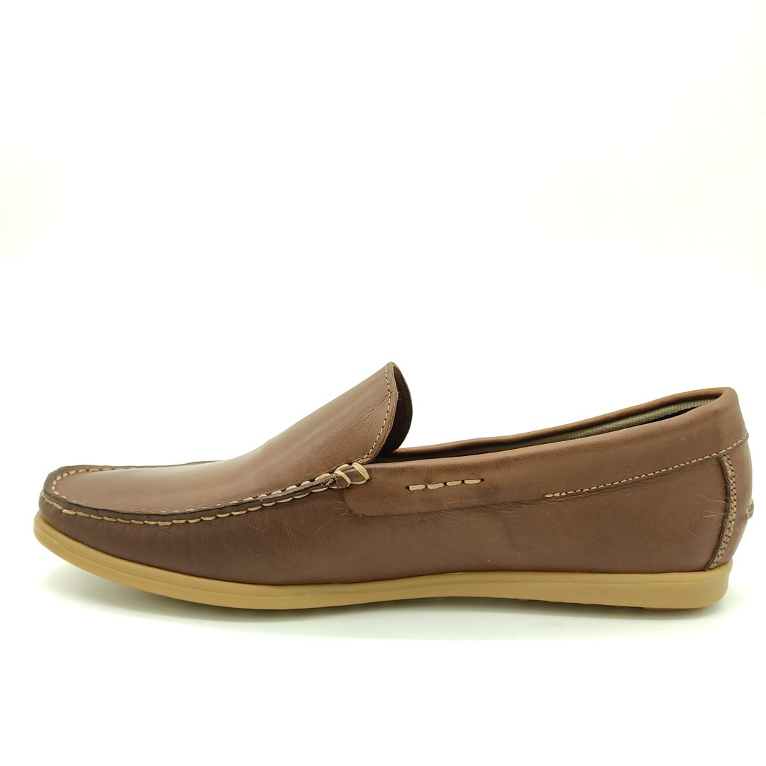Mocassim Estilo Drive Keep Shoes Canela 1319