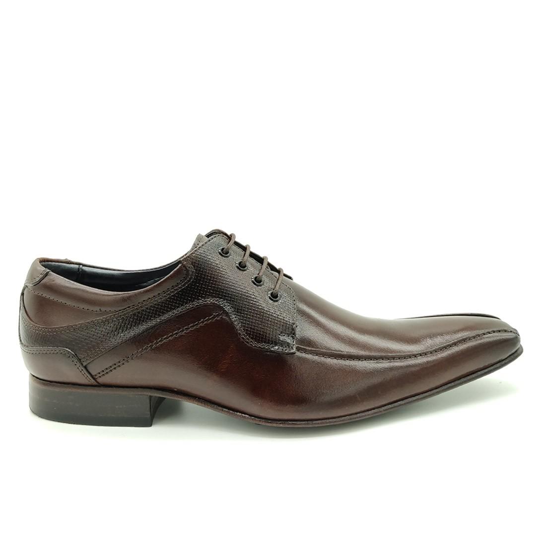 Sapato Estilo Italiano Sola de Couro Keep Shoes Mouro 369
