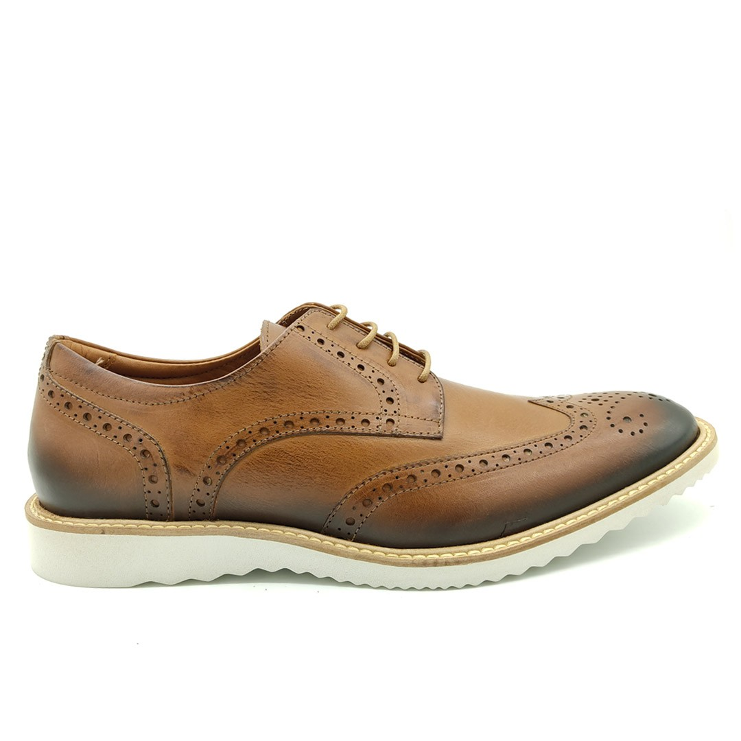 Sapato Estilo Oxford Keep Shoes Tabaco 10954