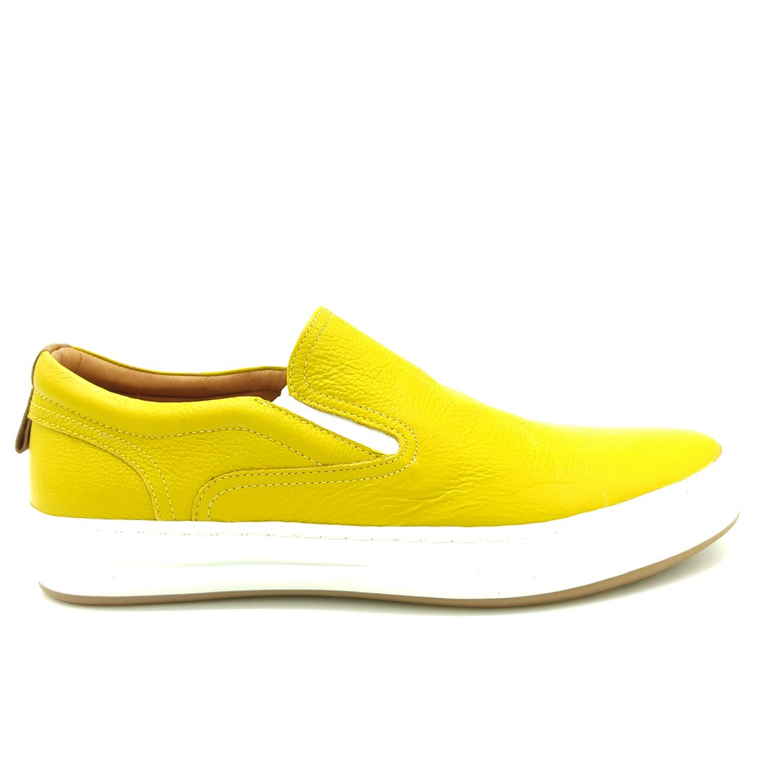 Tênis Iate Keep Shoes Amarelo 12051
