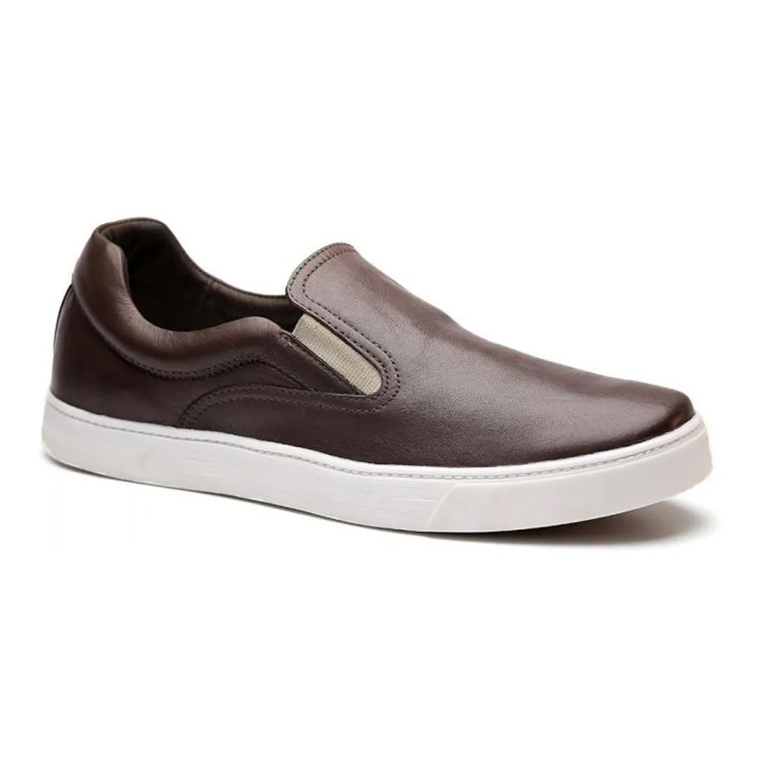 Tênis Iate Keep Shoes Cor Café Nap 7070