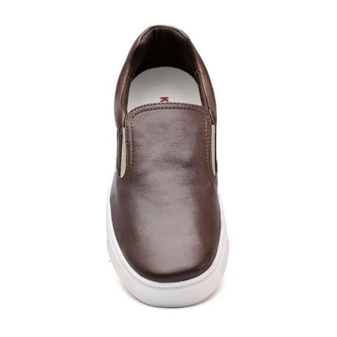 Tênis Iate Keep Shoes Cor Café Nap 7070