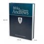 Bíblia de Estudos Andrews Atualizada Capa Dura Azul CPB